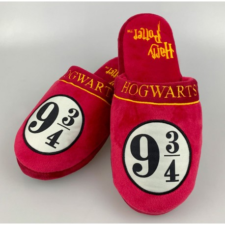 Zapatillas Gryffindor 42-45 Harry Potter Hogwarts slippers