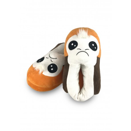 ZAPATILLAS Porg Star Wars slippers nros 38-41