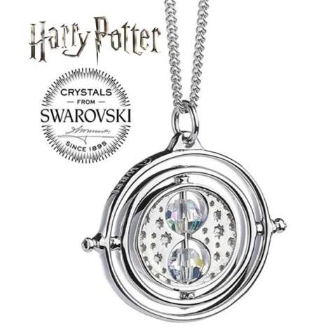 Colgante en plata y cristales Swarovski Snitch dorada Harry Potter