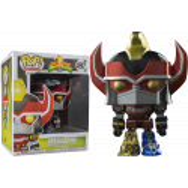 Funko Pop Megazord Power Rangers Exclusivo Metallic zord