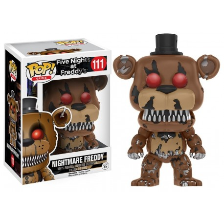 Figura Nightmare Foxy Pirate five Nights at Freddy´s