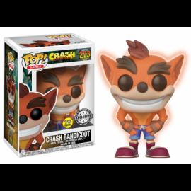 Figura Crash Bandicoot GITD glow in the dark Funko Pop