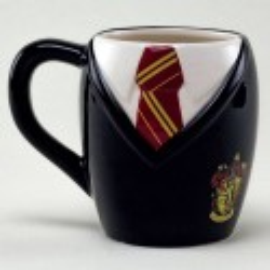 Taza 3D Uniforme Gryffindor - Harry Potter Corbata Colegio