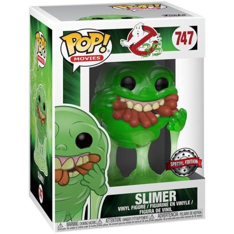 Funko Pop Slimer MOquete cazafantasmas ghostbusters funko Pop