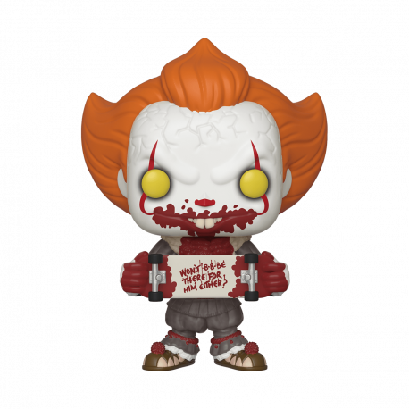 Pennywise Open arms brazos abiertos It Chapter 2
