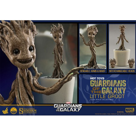 Dancing Groot Hot toys Guardianes de la Galaxia Guardians Galaxy Sideshow