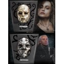 PAck dos Máscaras Bellatrix y Lucius Malfoy Noble Collection con expositor