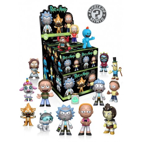 Mistery Mini Rick y Morty Things Funko