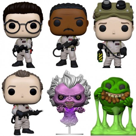 Funko Pop Peter Venkman cazafantasmas ghostbusters funko Pop