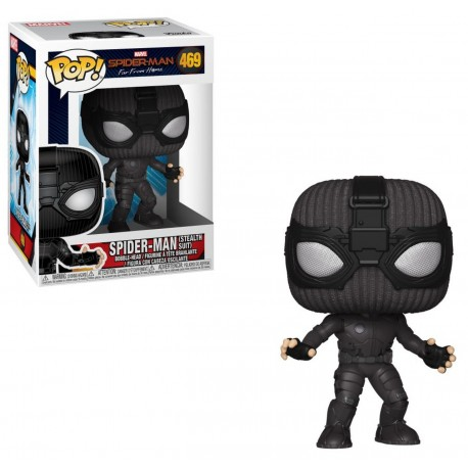 Spider-Man N469 Stealth Suit Spider-Man Far From Figura POP spiderman