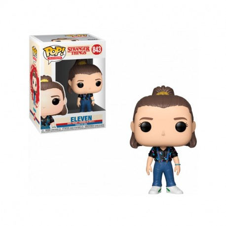 Eleven N843 Temp 3 Stranger Things Vaqueros y Coleta Funko pop