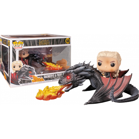 Daenerys y Drogon Funko Pop Rides Juego Tronos Game Thrones