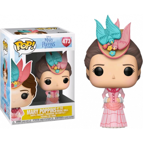 Figura Mary Poppins Pop Vinyl Returns cometa