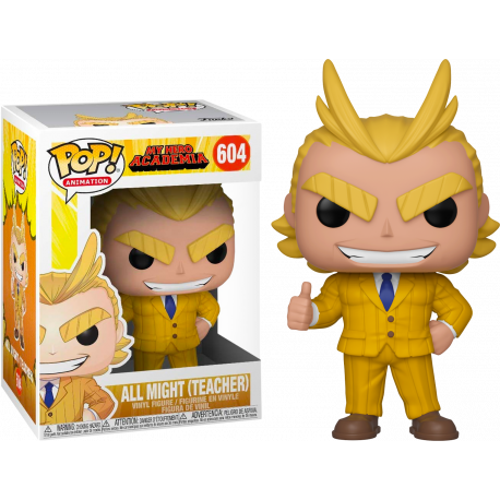 All Might Siler Age My Hero academia Funko Pop