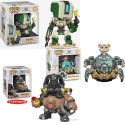 "Pack Wrecking BAll Bastion Roadhog Overwatch Pop Vinyl 6"" Funko"