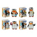PAck 4 Figuras Pinguinos Madagascar Rico Skipper Private Kowalski