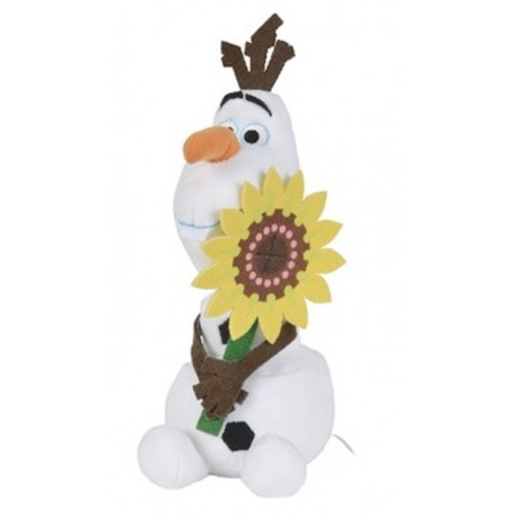 Peluche Olaf con pastel 25cm Frozen