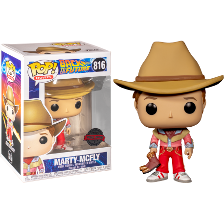 Marty Mcfly Regreso al futuro Fan Expo exclusiva Pop vinyl Funko