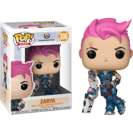 Tracer Posh Overwatch Pop Vinyl 92