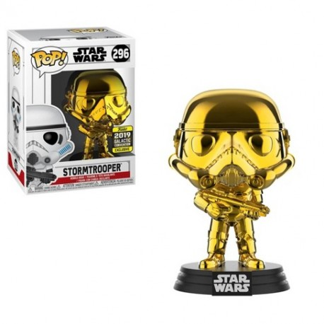 Chewbacca Gold Chrome Pop Vinyl Funko Star Wars