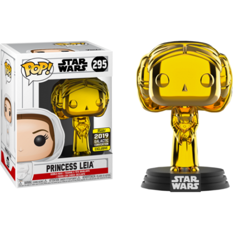 Yoda Gold Chrome Pop Vinyl Funko Star Wars