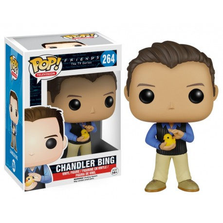 figura Friends Pop vinyl funko Chandler Bing
