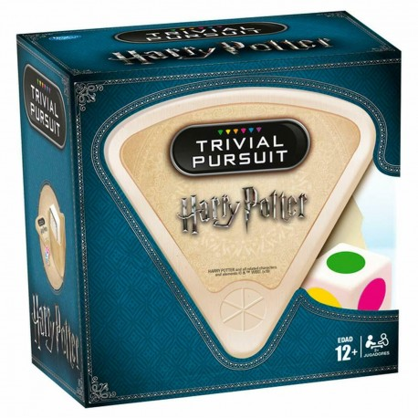 Trivial Harry Potter Pursuit Edition Bolsillo 600 preguntas Castellano