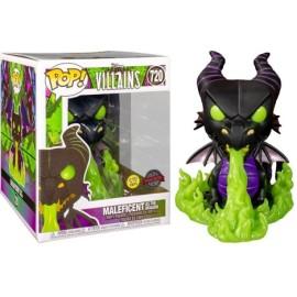 Dragon Maléfica Maleficent Villains GITD Exc 720 Disney Pop Funko