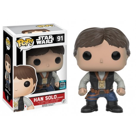 Han Solo Endor Star Wars Funko Pop vinyl