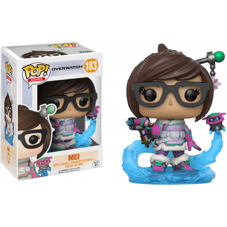 Figura Mei Overwatch Pop Vinyl