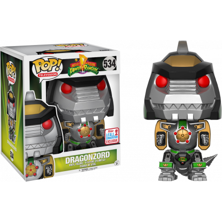 Funko Pop Vinyl Dragon Zord Power Rangers Dragonzord Comic Con Funko NYDCC