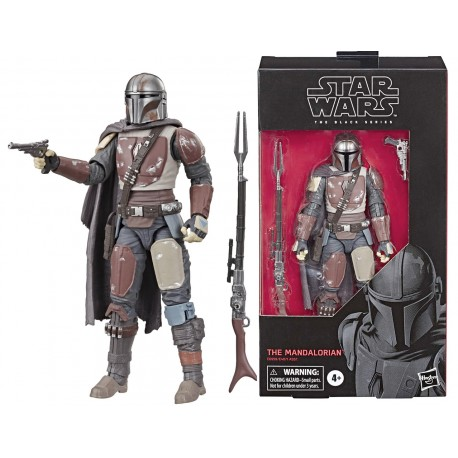 Heavy Mandalorian Star Wars Black Series 6""