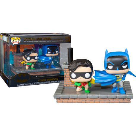 Movie Moment Batman vs Joker Funko Pop