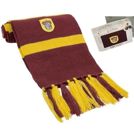Bufanda Harry Potter Gryffindor en caja regalo