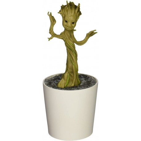 Guardianes de la Galaxia Grow and Glow Figura Groot 18 cm semillas planta brilla
