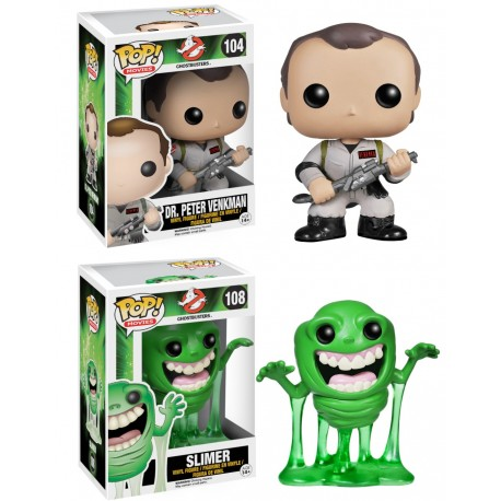 PAck 6 Funko Pop Peter Venkman Slimer cazafantasmas ghostbusters funko Pop