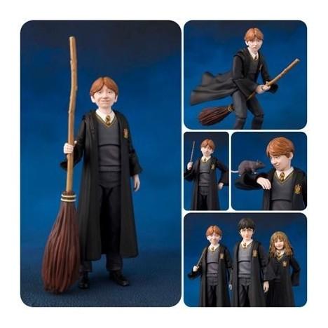 Figura Harrry Potter SH Figuarts con Hedwig 10cm