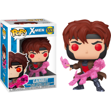 Gambit Gámbito X-Men classic Funko Pop MArvel 553
