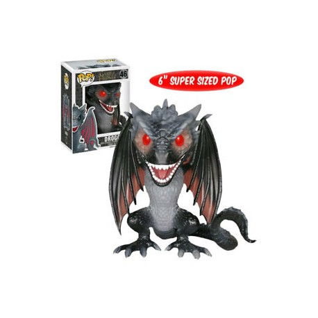 Figura Drogon supersized 15cm dragón Juego de Tronos funko Pop vinyl Game Thrones