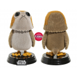 Figura Porg Flocked exclusivo LAst Jedi Funko Pop Star Wars