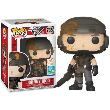 Johny Rico Starship Troopers Funko Pop Exclusiva SDCC