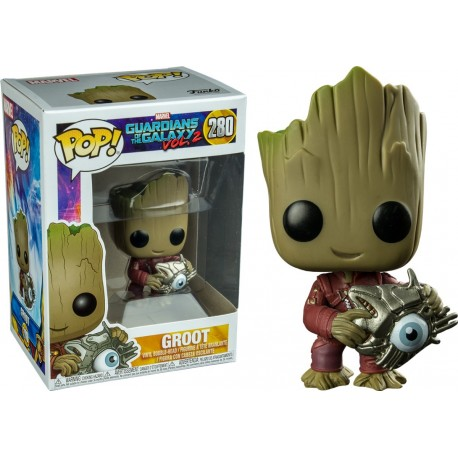Figura Groot Candy Bowl N264 Funko Pop Guardianes de la Galaxia Vol 2 Funko
