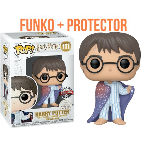 Harry Potter capa invisibilidad exclusivo Funko Pop Vinyl