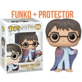 Harry Potter capa invisibilidad exclusivo Funko Pop Vinyl con protector