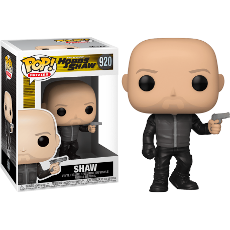 Hobbs and Shaw Hobbs Fast Furious 921 Funko Pop