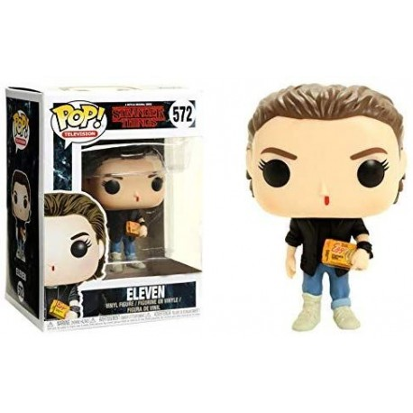 Figura Eleven Chase Edition Funko Pop with eggos Stranger Things