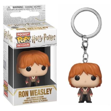 Llavero Ginny weasley Yule BAll Harry Potter funko Pop funko keychain