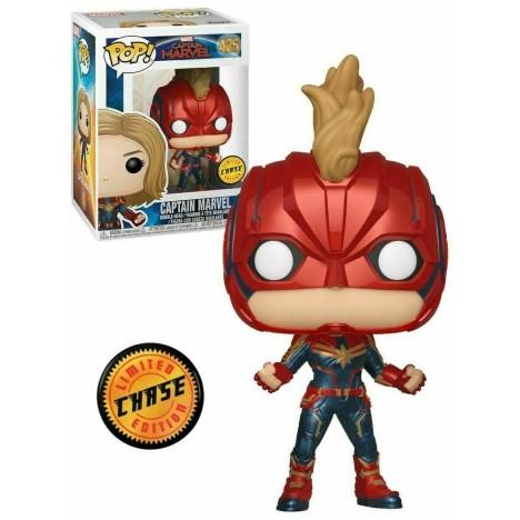 Capitana Marvel Jacket Funko pop Captain