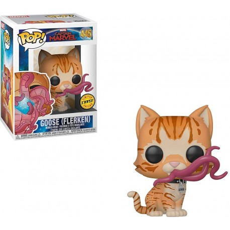 Goose The Cat N426 Capitana Marvel Funko pop gato Captain