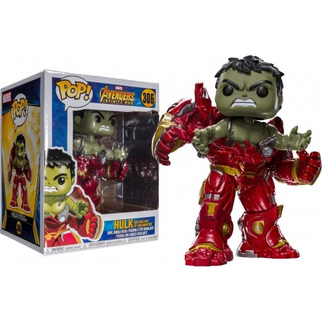 Hulk busting out Hulkbuster 15cm Funko Pop 306